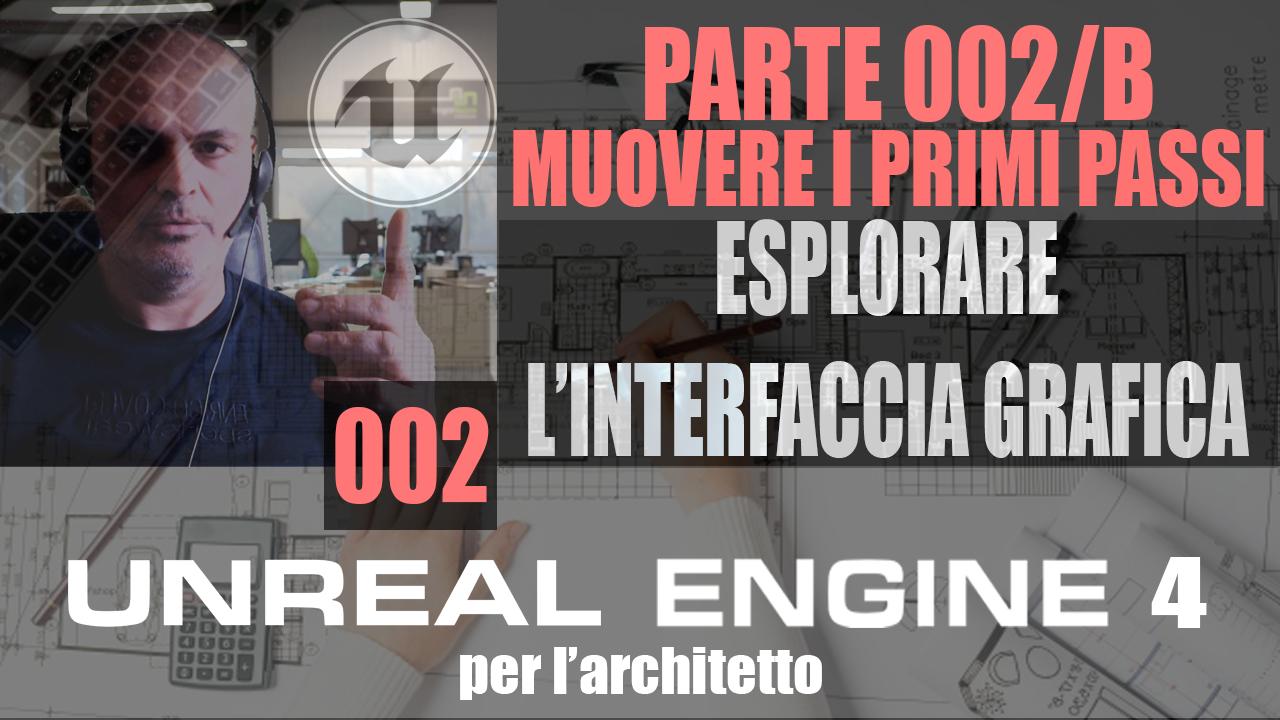 Unreal Engine 4. Interfaccia Grafica Unreal Engine.
